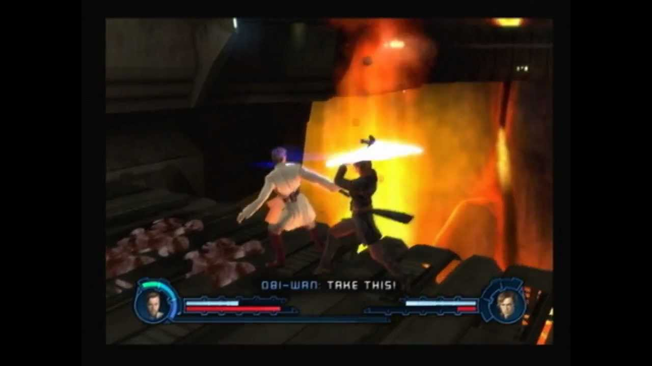 Star Wars Revenge Of The Sith Ps2 Walkthrough A Friendship In Flames Youtube