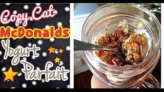 """copy Cat"" Mcdonald's Yogurt Parfait Recipe"