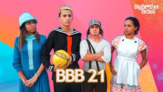 A TURMA DO CHAVES NO BBB21 ( Nathanflix )