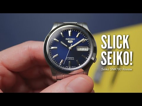 The BEST Watch ANYONE Can Afford? | My First Ever 'Seiko 5' - Seiko SNK793K1 Review