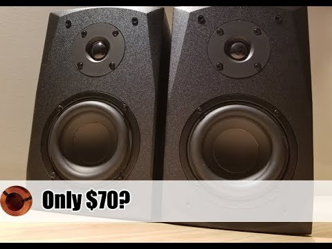 Best Budget Bookshelf Speakers Dayton MK402 Review Unboxing And Sound Test