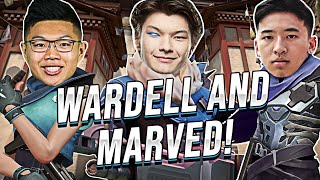 SEN Sinatraa | PLA¥ING WITH WARDELL AND MARVED! (Sova Gameplay)