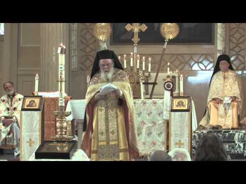 Holy Resurrection Monastery Divine Liturgy at IRL Event Mundelein, Illinois