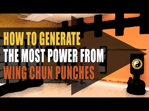 Wing Chun Training | How To Generate Power From The Wing Chun Punch | Kung Fu Training | Martial Art