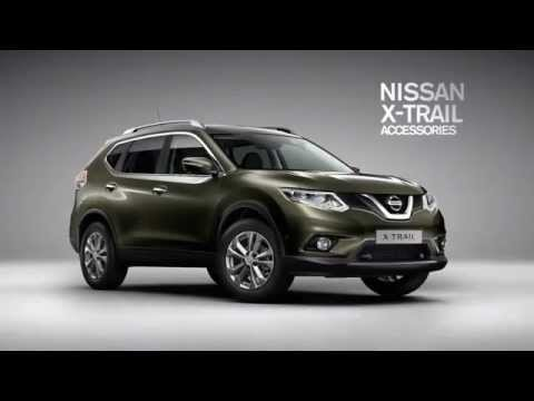 nissan all new x trail accessories youtube. Black Bedroom Furniture Sets. Home Design Ideas