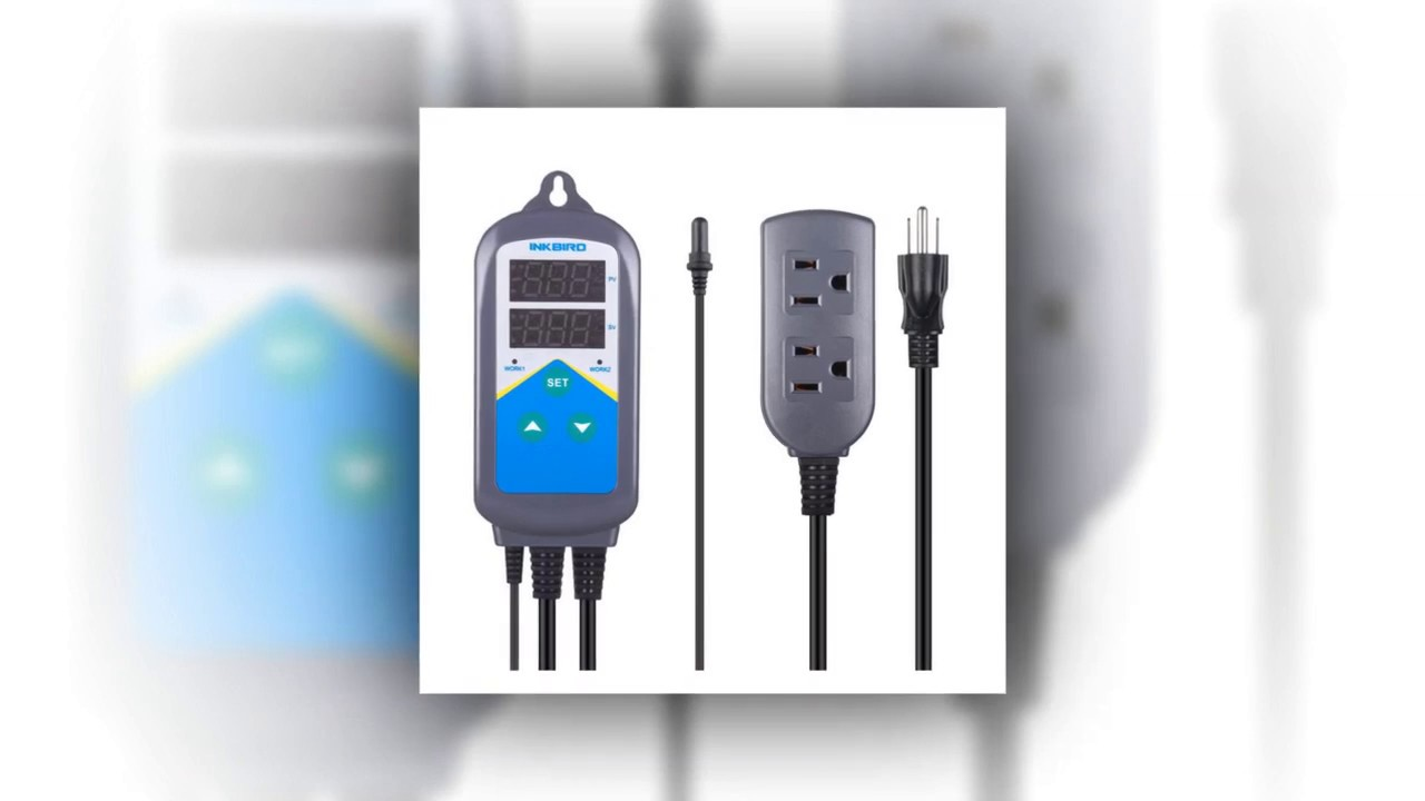 ITC-306T+Aquarium Probe Inkbird Digital Temperature Controller Thermostat /& Timer Time Switch AC 100~240V,1200W Only Heating for Breeding Planting ect NO Cooling Control