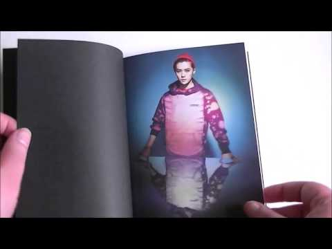 EXO-M Overdose NOTE (Luhan) [SM Official Goods] Unboxing - KPOP UNBOXINGS