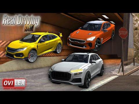 Real Driving Sim UPDATE! - Three New Cars (Two Sports Sedans & Luxury SUV)