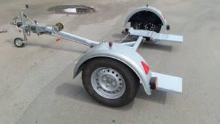 Лафет-подкат, эвакуатор для перевозки авто