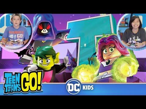 Teen Titans Go! LEGO Dimensions Battle Arena! | DC KIDS SHOW