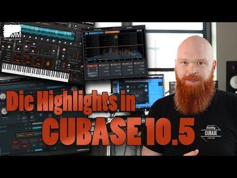 Steinberg Cubase 10.5 – Die neuen Funktionen & Highlights