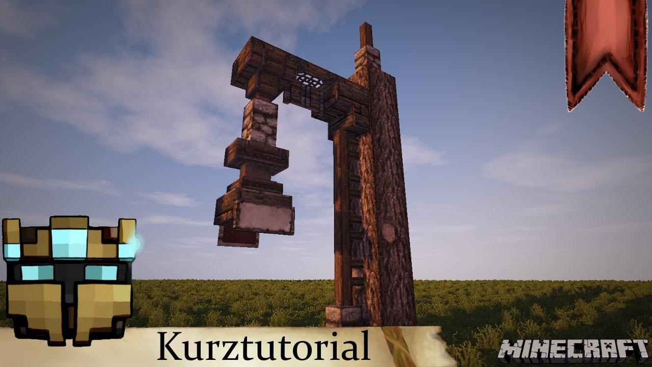 Minecraft mittelalter kurztutorial dekoration - Minecraft dekoration ...