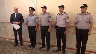 10 08 2017 Sumqayit icra bascisi polisleri qebul etdi yeniiii