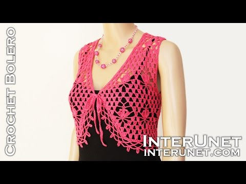 Lace bolero jacket. Part 1 of 2