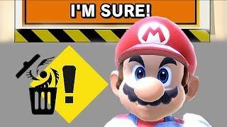 Evolution of Deleting Save Data in Super Smash Bros Games (1999 - 2018)