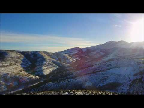 Aerial Drone Video of the Salt Lake Valley -- Dec 30, 2016