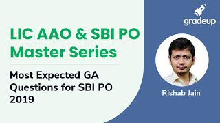 LIC AAO & SBI PO Master Series: Most Expected GA Questions