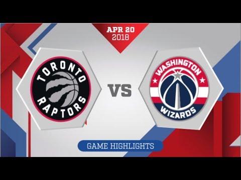 Toronto Raptors vs Washington Wizards Game 3: April 20, 2018