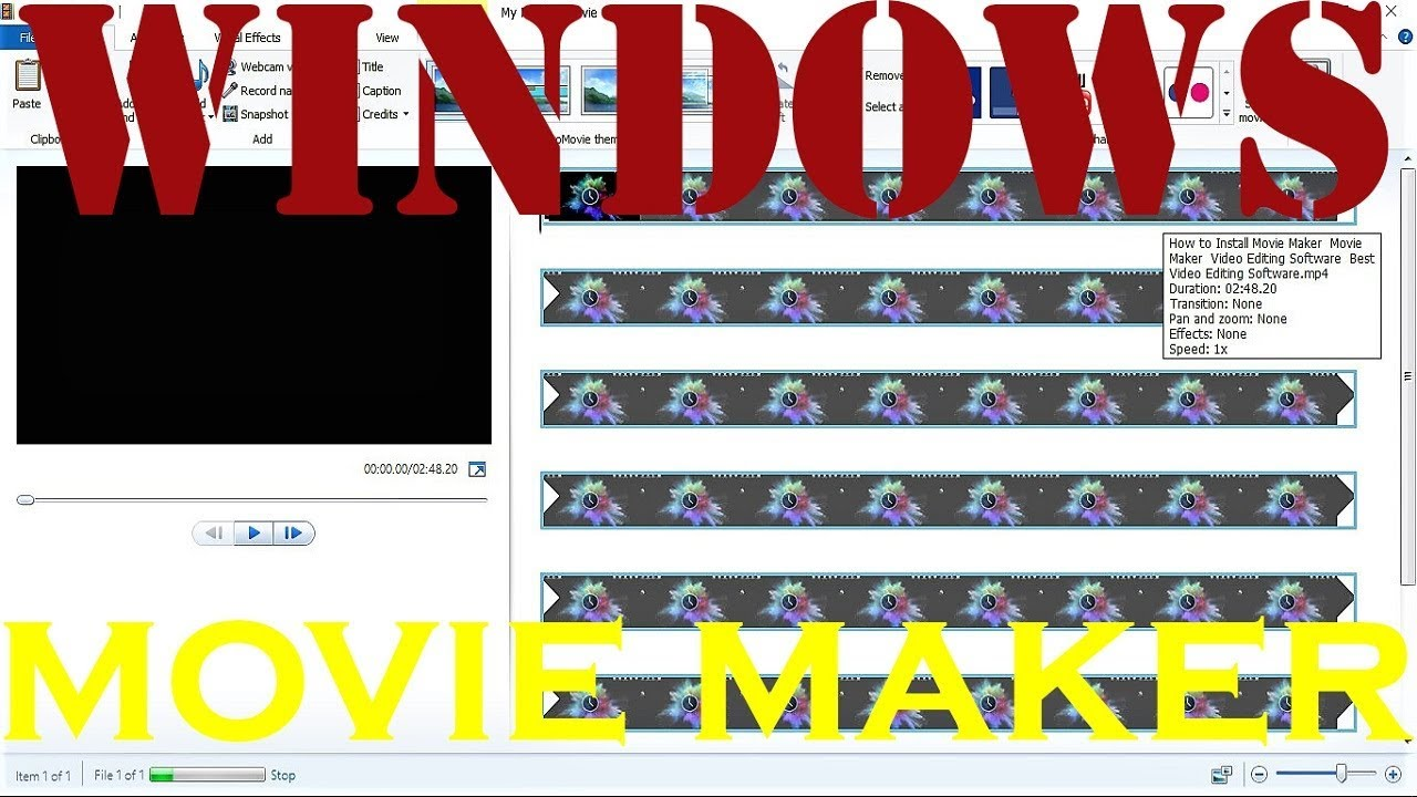 How to Install Movie Maker | Movie Maker | Video Editing Software | Best  Video Editing Software