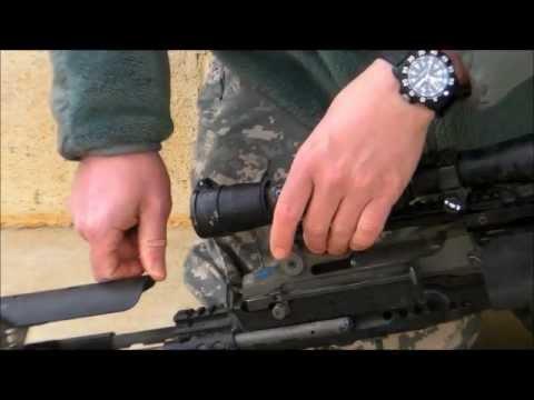 Enhanced Battle Rifle - Designated Marksman Maintenance Checks