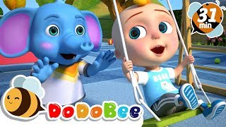 Yes Yes Playground Song +More Nursery Rhymes and Kids Songs
