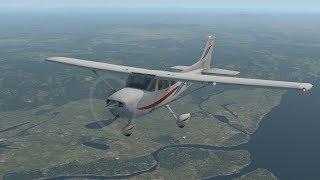 Cessna 172 Skyhawk Первые шаги в X-Plane 11