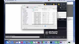 Testing Audio Converter under Mac OS X Yosemite