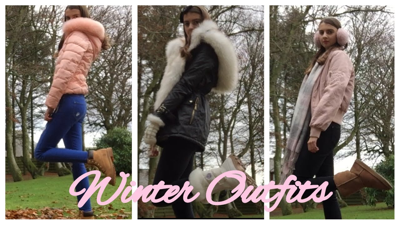 [VIDEO] - Girly Winter Outfit Ideas | sweetlikeskye 2