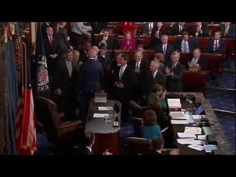 Busy First 4 Months as Michigan's New Senator