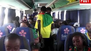 Les Camerounais sont Confiants au Caire Par Vincent Kamto