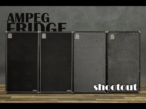 Ampeg THE FRIDGE shootout 810 comparison