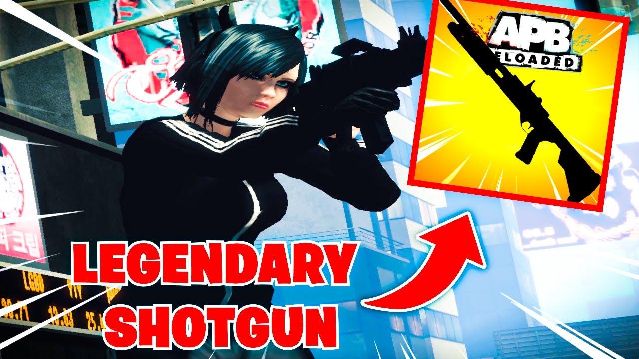 Download 🔥  *NEW* LEGENDARY SHOTGUN IN APB 🔥