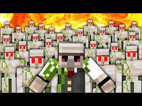 【マイクラ】『最強ゴーレム軍団』を従えエンドラを討伐せよ!!【おんりーだってチートしたい!】