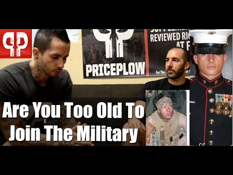 Are You Too Old to Join the Military?