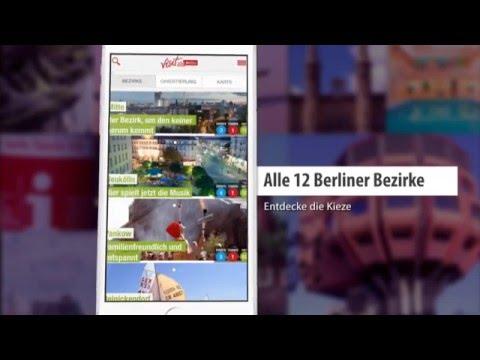The Berlin App by visitBerlin - Going Local Berlin