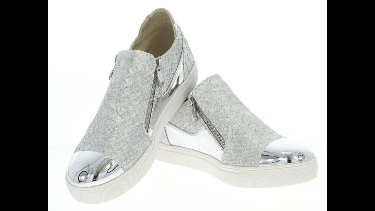 c379f0da3339e5 С чем носить серебристые кеды: кожа, деним и трикотаж