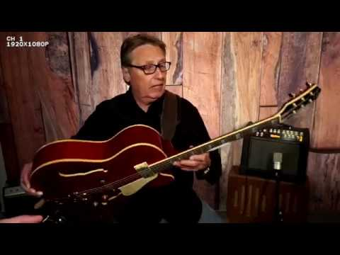 How does this Jay Turser Monterrey Guitar sound to you? Rich Severson
