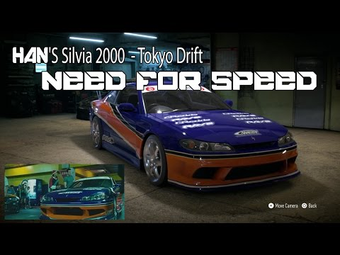 need for speed deluxe edition han 39 s silvia 2000 tokyo drift movie ps4 youtube. Black Bedroom Furniture Sets. Home Design Ideas
