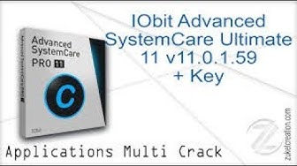 IObit Advance SystemCare Ultimate11 Serial key life time activate with proved 2019 new tips