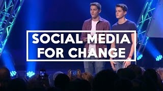 Using Social Media For Change