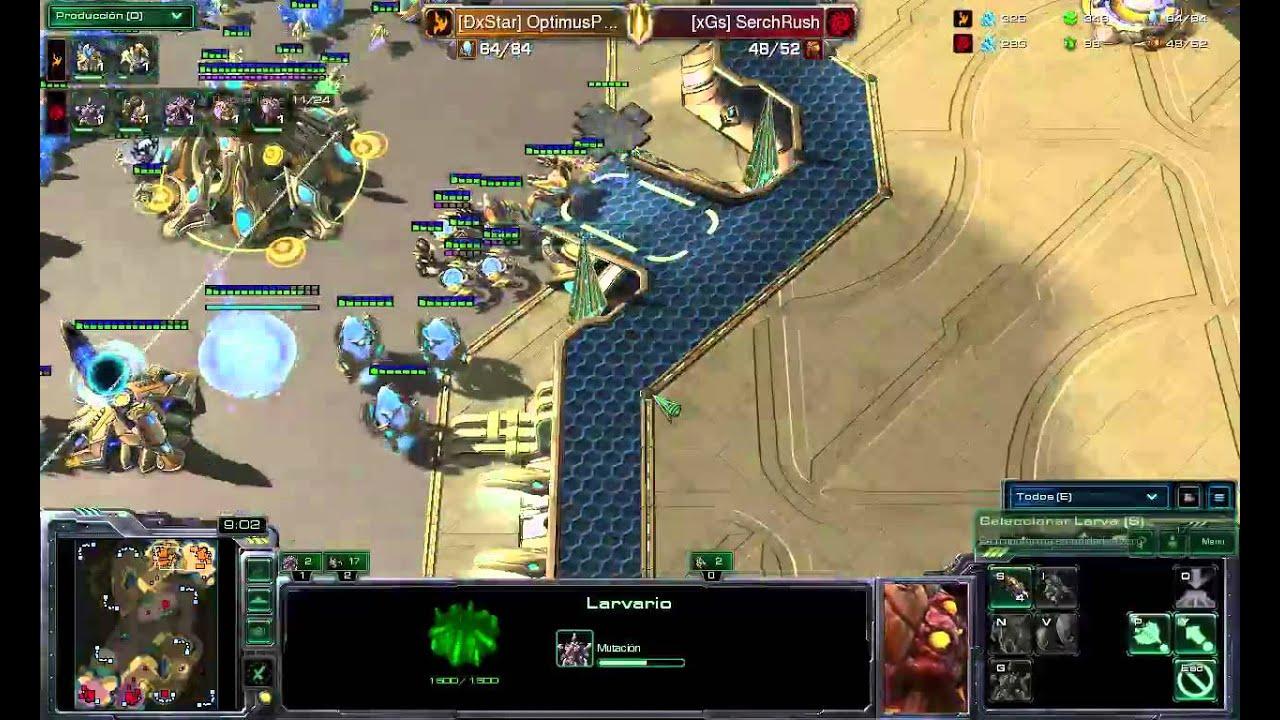 Starcraft 2 Hots Lapl Game 3 Optimus Vs Serchrush