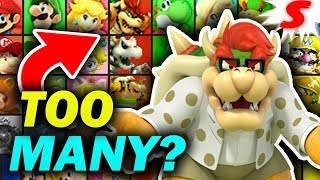Are There TOO MANY Mario Characters in Super Smash Bros? I Don't Think So.