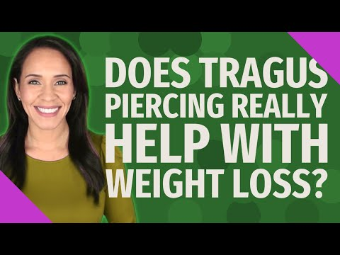 Tragus Piercing For Weight Loss -Piercings help you lose weight? **2021 Tragus Piercing