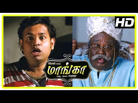 Maanga Tamil Comedy Movie | Premgi visits a Haunted House | Premgi Amaren Funny Scene | Manobala