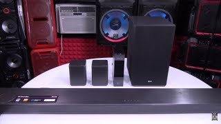 LG SK10Y 5.1.2 Channel Hi-Res Audio Sound Bar with Dolby Atmos