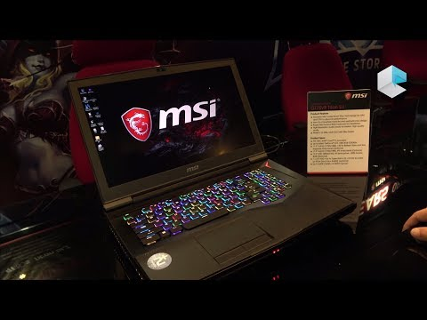 MSI GT75VR Titan SLI con RAPID Mechanical RGB keyboard (ITA)