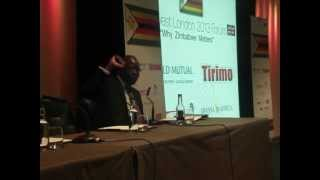 Zim invest fair 2013 Question and answer session