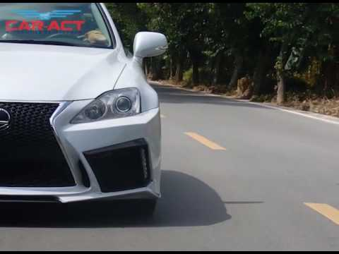 Car Act Body Kit Front Bumper Rear Bumper Exhaust For Lexus Is Tune