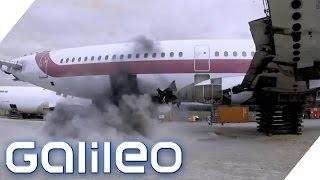 Flybags: Ein lebensrettender Schutz vor Flugzeugbomben? | Galileo | ProSieben