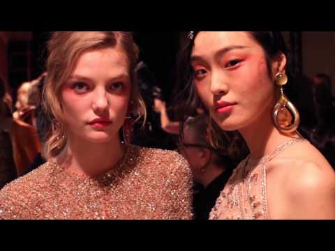 Giorgio Armani Privé – 2017 Spring Summer – Couture Fashion Show Backstage